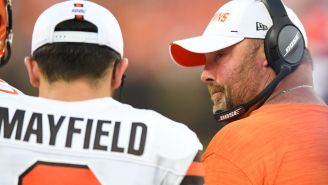 Freddie Kitchens Says He Truly Doesn't Look At Stats, Backs Baker Mayfield And Continues To Be A Laughing Stock