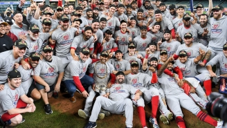 The Washington Nationals' World Series Rings Have A Spelling Error On Them