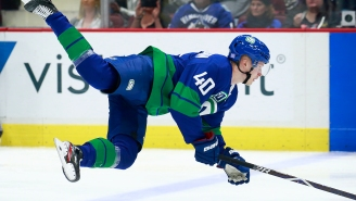 St. Louis Blues Brutally Beat Canucks In OT With A 3-On-0 Goal After Vancouver's Skaters All Wiped Each Other Out