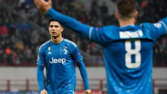 Cristiano Ronaldo Looked Like He Scored His First Free-Kick Goal For Juventus, But Then Aaron Ramsey Savagely Stole It From Him