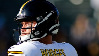 Devlin Hodges Deletes Past Tweets Supporting Donald Trump After Steelers Name Him Starting Quarterback