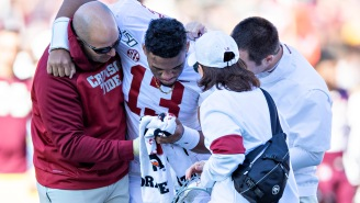 Alabama QB Tua Tagovailoa's Hip Injury Is Reportedly 'Very Serious' And Is Being Compared To Bo Jackson's Career-Ending Injury By Medical Experts