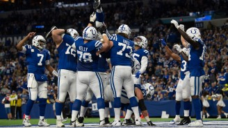 Quenton Nelson Explained How The Colts' Incredible Keg Stand TD Celebration Came Together