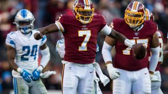 Washington's NFL Team Adopts A New Name For The Time Being: The 'Washington Football Team'