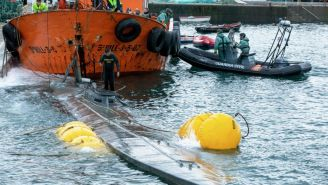 Authorities Raid Huge Narco Submarine, Confiscate 3 Tons Of Cocaine