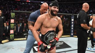 There Are No Bad Options For Jorge Masvidal, BMF Belt Champion And UFC Made Man