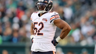Khalil Mack Reportedly Went To Cruel And Unusual Lengths To Stiff Kids Out Of Halloween Candy