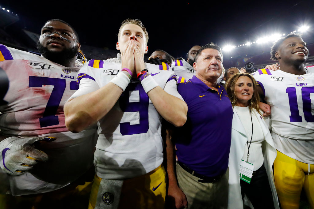 Ed Orgeron Videoed Saying 'Roll Tide What? F*ck You' After LSU's Win Over Alabama