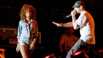 Eminem's Entire Verse Attacking Rihanna From 2011 Has Leaked And Rapper's Rep Addresses Lyrics