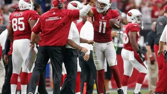 Bruce Arians Recalls Larry Fitzgerald Gifting Him A Mercedes Convertible After Injuring Him In Post-Game Celebration