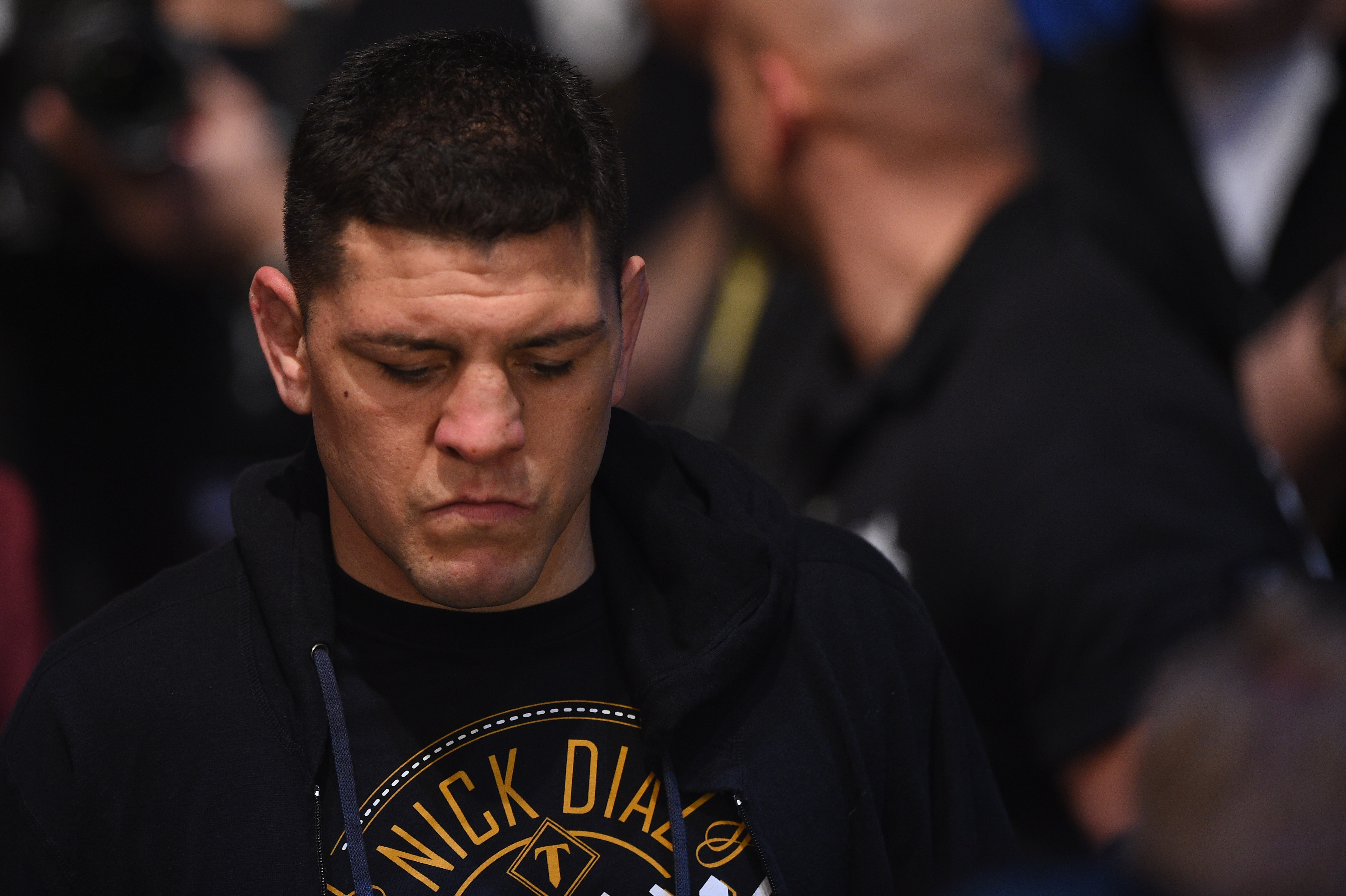 """Dana White says she doesn't see the fire in Nick Diaz: """"I just wonder how badly he really wants to fight."""""""
