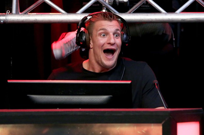 """Rob Gronkowski says he has a """"big announcement"""" on Instagram video, prompting many hopeful New England Patriots fans to believe he is coming back to play football, but he might be promoting his CBD business."""