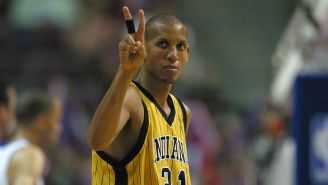Reggie Miller Discusses The Malice At The Palace On Its 15th Anniversary: 'To This Day I See That Red Cup Flying Through The Air'