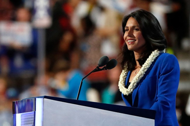 Tulsi Gabbard, who is a 2020 Democratic presidential candidate, member of the U.S. House of Representatives and an Iraq War veteran, shows off impressive workout routine on Twitter and Instagram.