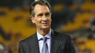 Chris Collinsworth Apologizes On Air After Making Awkward Comment About Dak Prescott's Dead Mother During 'Sunday Night Football' Broadcast