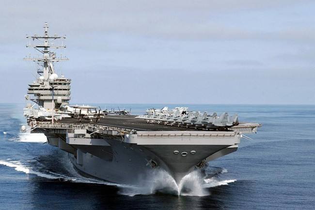 """Five US Navy veterans, Gary Voorhis, Jason Turner, P.J. Hughes, Ryan Weigelt, and Kevin Daye, witnessed the USS Nimitz UFO incident where an alien aircraft or """"unidentified aerial phenomena"""" UAP as also seen by David Fravor."""