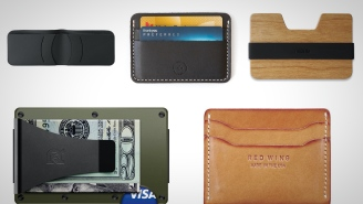5 Slim Wallets You Should Ask Santa For This Year
