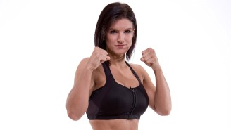 Gina Carano Says A UFC Title Fight Against Ronda Rousey Was Going To Happen Til Dana White Sent Her A Derogatory Text