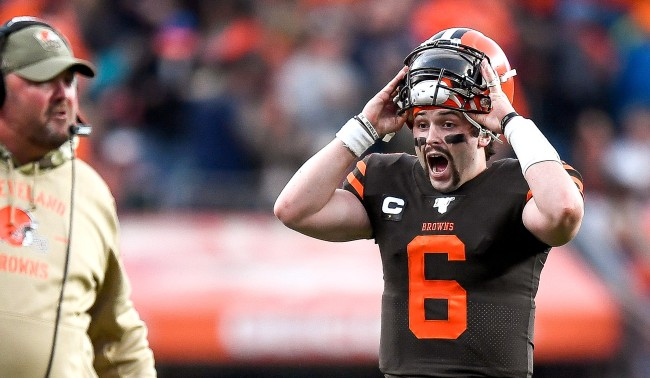 baker mayfield push up challenge form