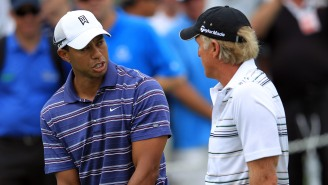Greg Norman's Pretty Mad That Tiger Woods Ghosted Him After A Handwritten Letter Congratulated Tiger's Masters Win