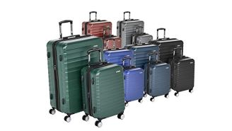 Deals Week: AmazonBasics Premium Hardside Luggage, Christmas Trees, Ugly Christmas Sweaters