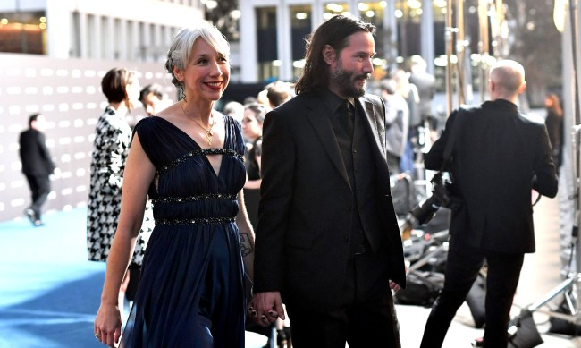 Keanu Reeves Finally Made Appearance With Girlfriend Alexandra Grant
