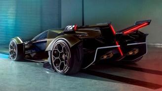 Lamborghini Just Unveiled Their Unbelievably Badass Lambo V12 Vision Gran Turismo Concept Supercar