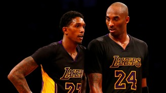 Lou Williams Told An A+ Story About Kobe Bryant Ordering His Lakers Teammates To Give Him The Ball