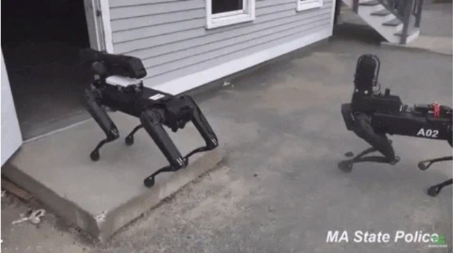 Massachussetts State Police Secretly Used Robot Dogs For Three Months