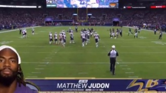 Ravens' Matthew Judon Says 'Body Built By Taco Bell' During 'Sunday Night Football' Player Introductions