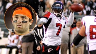 Michael Vick Has Some A+ Advice For Baker Mayfield And A Big Part Of It Is 'Throw The Ball To Odell Beckham'