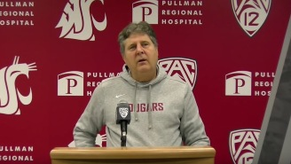Mike Leach Spent Over Two Minutes Of His Weekly Press Conference Talking About Zombies, And It Was Amazing