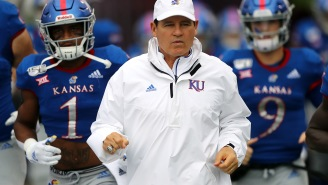 Les Miles' ESPN+ Show, 'Miles To Go', Shows Off All The Quirkiness Of The Kansas Jayhawks' Head Football Coach
