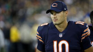 The Chicago Bears Still Have 'Serious Confidence' In Painfully Obvious Draft Bust Mitch Trubisky
