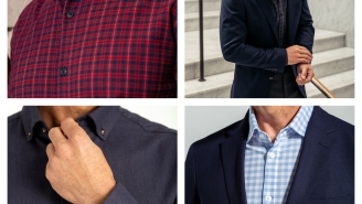 Mizzen+Main's Performance Flannels Are The Perfect Holiday Gift