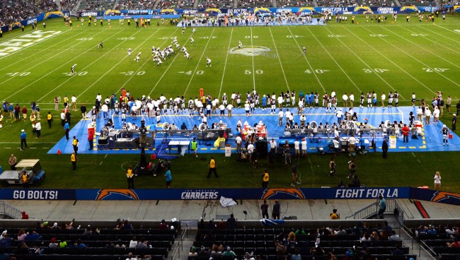 NFL Has Discussed Moving The Unpopular Los Angeles Chargers To London