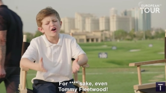 Little Billy Is Back Trying To Interview European Tour Players And His Latest Video Is Pure Gold