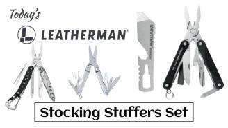 Today's Leatherman: Stocking Stuffers Set