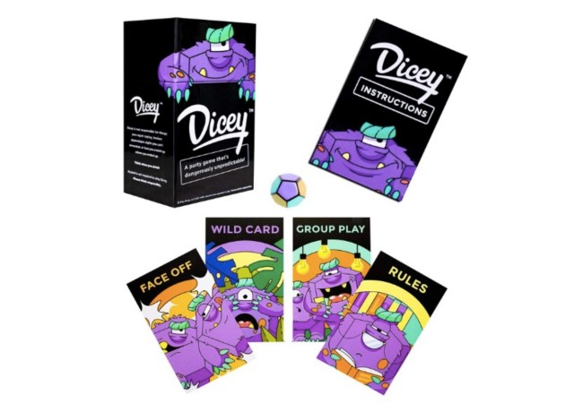 Dicey Card Game
