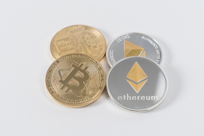 Ethereum crypto currency coin bitcoin