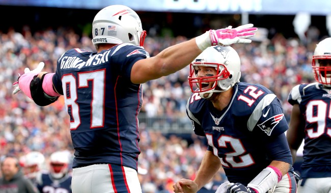 Tom Brady Tricked Fans Into Thinking Rob Gronkowski Was Coming Back