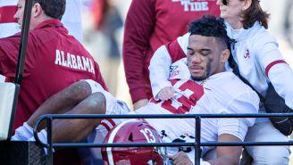 Tua Tagovailoa Looks Back On One-Year Anniversary Of Injury At Alabama