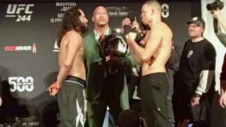 UFC 244: Dana White Unveils The BMF Belt, Nate Diaz And Jorge Masvidal Make Weight