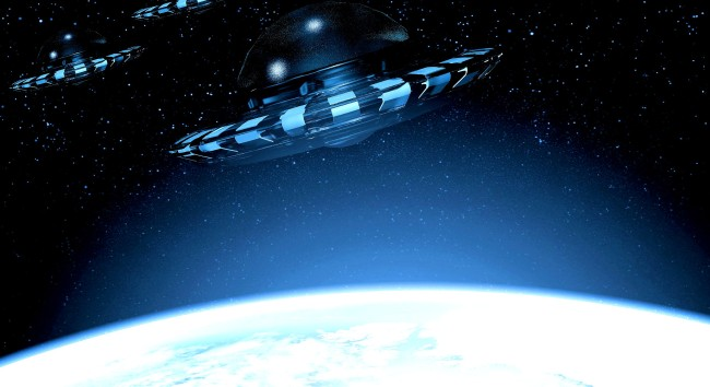 UFO Expert Claims To Have Video Of Alien Spaceships Passing By Our Moon