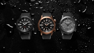 'The Vessel' From Vincero Watches Is A Brand-New, Waterproof Dive Watch – Get It 15% Off!