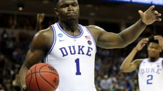 Zion Williamson Quickly Deleted A Tweet Bragging About Duke That He Sent Out After Their Shocking Loss To Stephen F. Austin