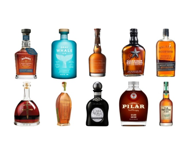 Alcohol gift guide and ideas for 2019, the best bourbon, whisky, rum, tequila, vodka and cognac to give for Christmas presents.