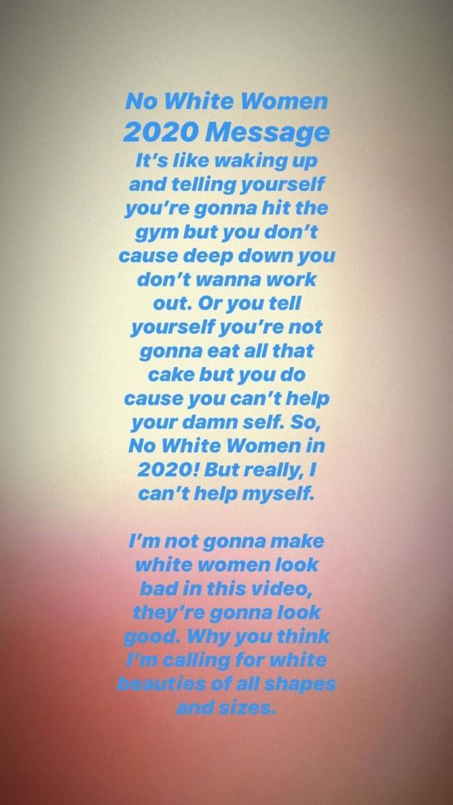 antonio brown white women music video