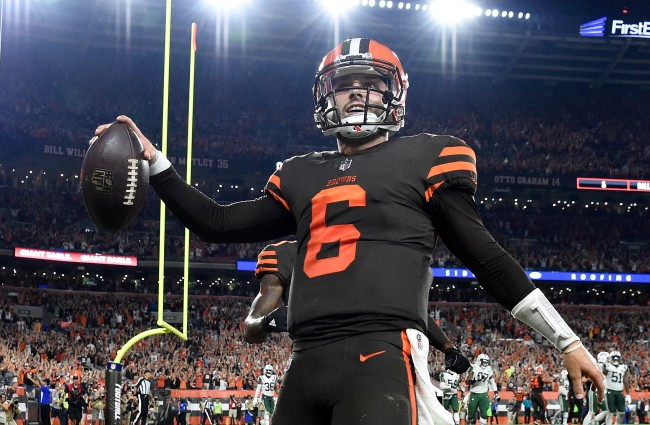 Baker Mayfield replies to Colin Cowherd's latest jab at him