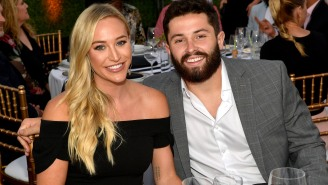 Baker Mayfield's Wife Emily Rips Veteran Cleveland Reporter Over T-Shirt Question, Fans Fire Back